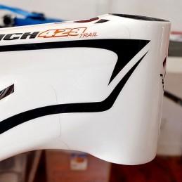 Frameskin for 2016 Pivot Mach 429 Trail