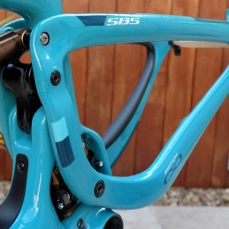 Frameskin for 2017 Yeti SB5C