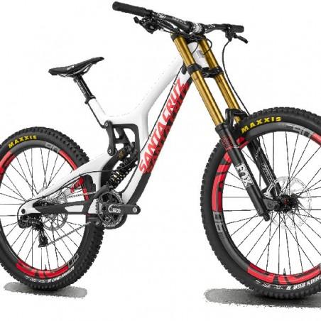 Frameskin for 2016 Santa Cruz V10 Carbon